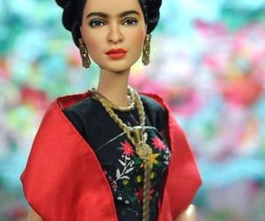 art, doll, and frida kahlo image