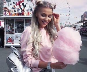 cotton candy, fashion, and fun image