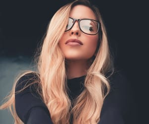 article, blond, and hair image