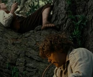 frodo, movies, and samwise gamgee image