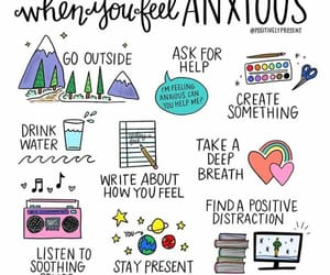 anxiety, help, and mental illness image