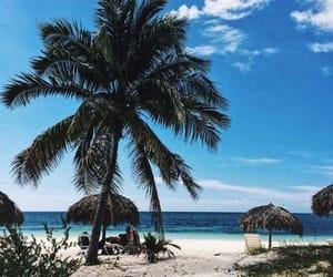 beach, chill, and cuba image