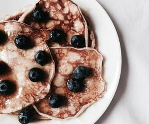 blueberries, tumblr, and breakfast image