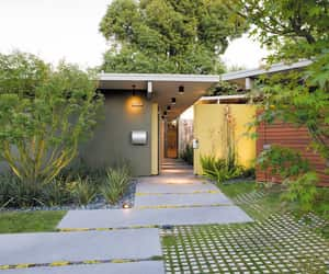 architecture, exteriors, and midcentury modern image
