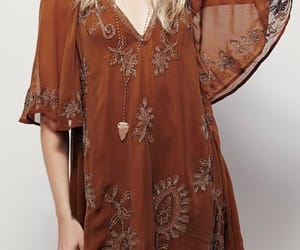 boho, dress, and fashion image