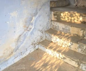 light, photography, and stairs image