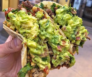 food, junk food, and tacos image