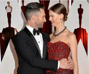 adam, behati, and husband image