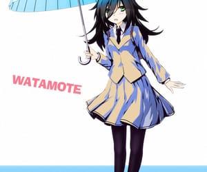 anime, umbrella, and cute image