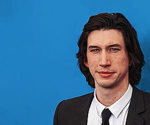 handsome, star wars cast, and adam driver image