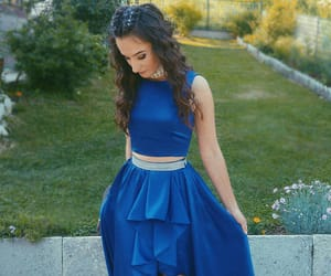girl, makeup, and Prom image