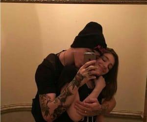 cuddle, hug, and kiss image