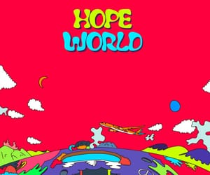 wallpaper, bts, and hope world image