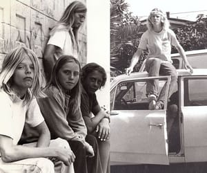 70's, black and white, and vintage image