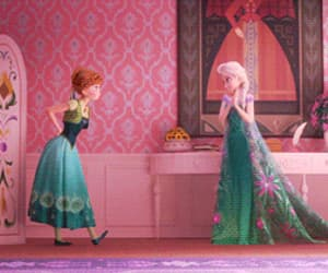 frozen, frozen fever, and gif image