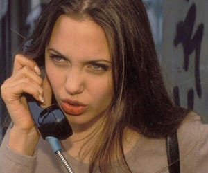 Angelina Jolie, actress, and vintage image