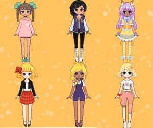 anime, jacket, and pixel image