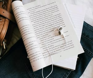 book, music, and reading image