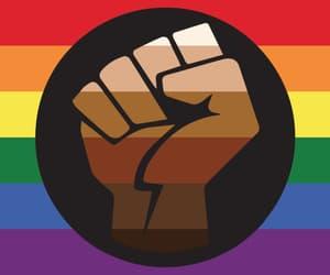 gif, lgbt, and pride flag image