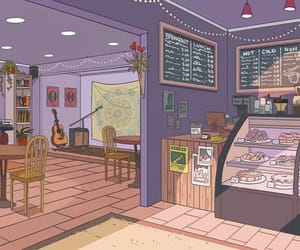 aesthetic, soft, and cafe image