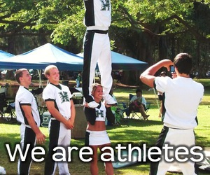 boy, cheer, and COED image