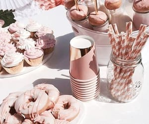 aesthetic, party, and rose gold image