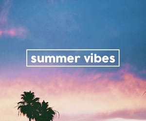 beach, summer, and summer vibes image