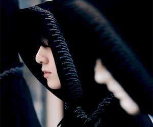 black, gif, and robe image