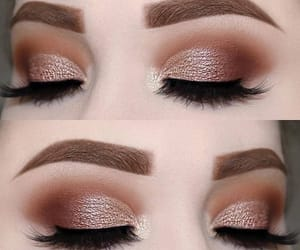 lashes, brows, and make up image