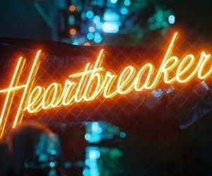 aesthetic, neons, and heartbreak image