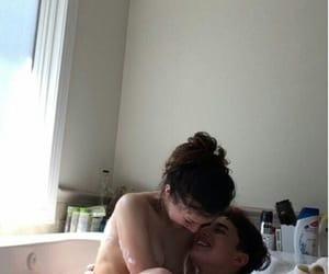 bath and couple image