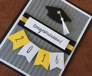 cards, congratulations, and graduation image