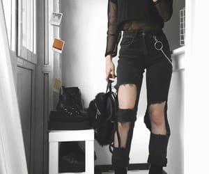 black, fashion, and black lover image