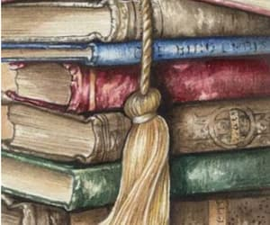 books, read, and old book image