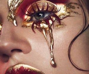 cosmetics, fashion, and gold image