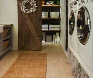 farmhouse, inspiration, and laundry room image
