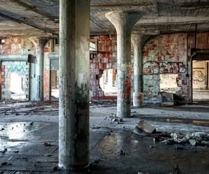 abandoned, architecture, and image image
