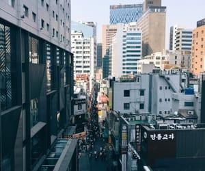 city, asia, and south korea image