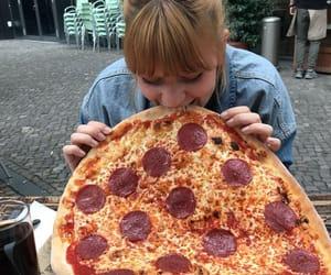 eva, girl, and pizza image