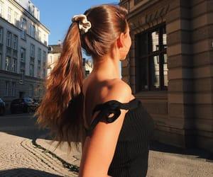 brunette, Easy, and girl image