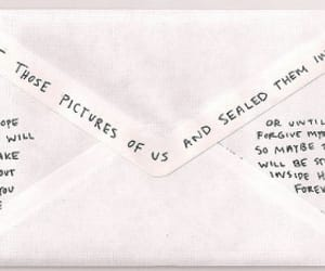 envelope, Letter, and picture image