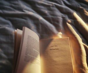 book, light, and sun image