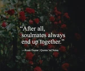 love, soulmates, and quotes image