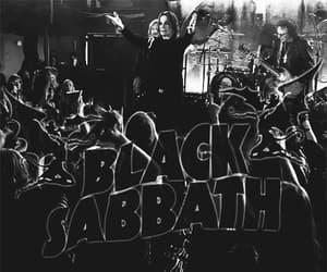 Black Sabbath, gif, and metal music image