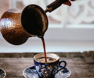 coffee, drink, and turkish coffee image