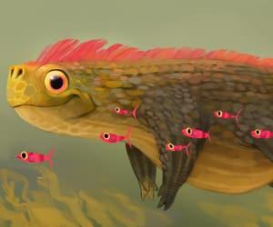 art, creativity, and fish image