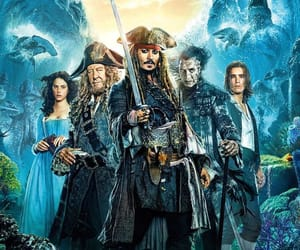 pirates of the caribbean, captain jack sparrow, and johnny depp image