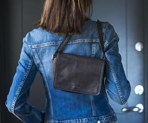 etsy, minimalist bag, and shoulder bag black image