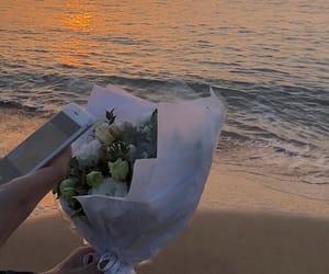 beach, korean, and seasons image