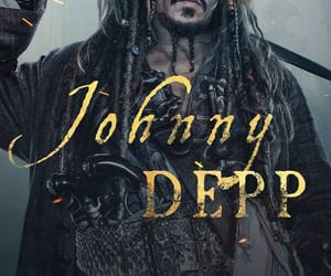 captain jack sparrow, johnny depp, and pirates of the caribbean image